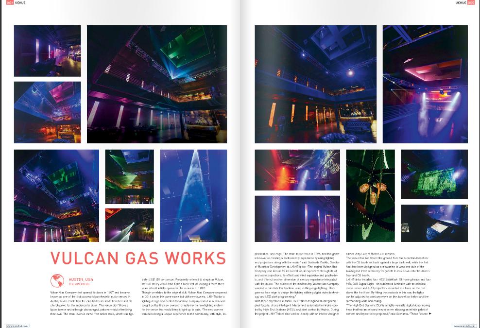 LIGHTfaktor Vulcan's designs featured in mondo*dr