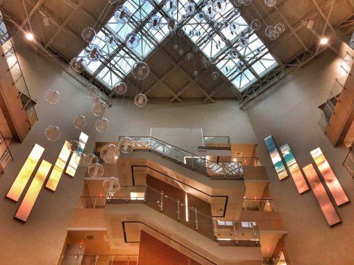 ST DAVID'S HOSPITAL -PIXEL ART – AUSTIN, TX.
